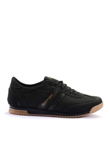Slazenger Erkek Ayakkabı Aker Sa10Le023-500 Siyah